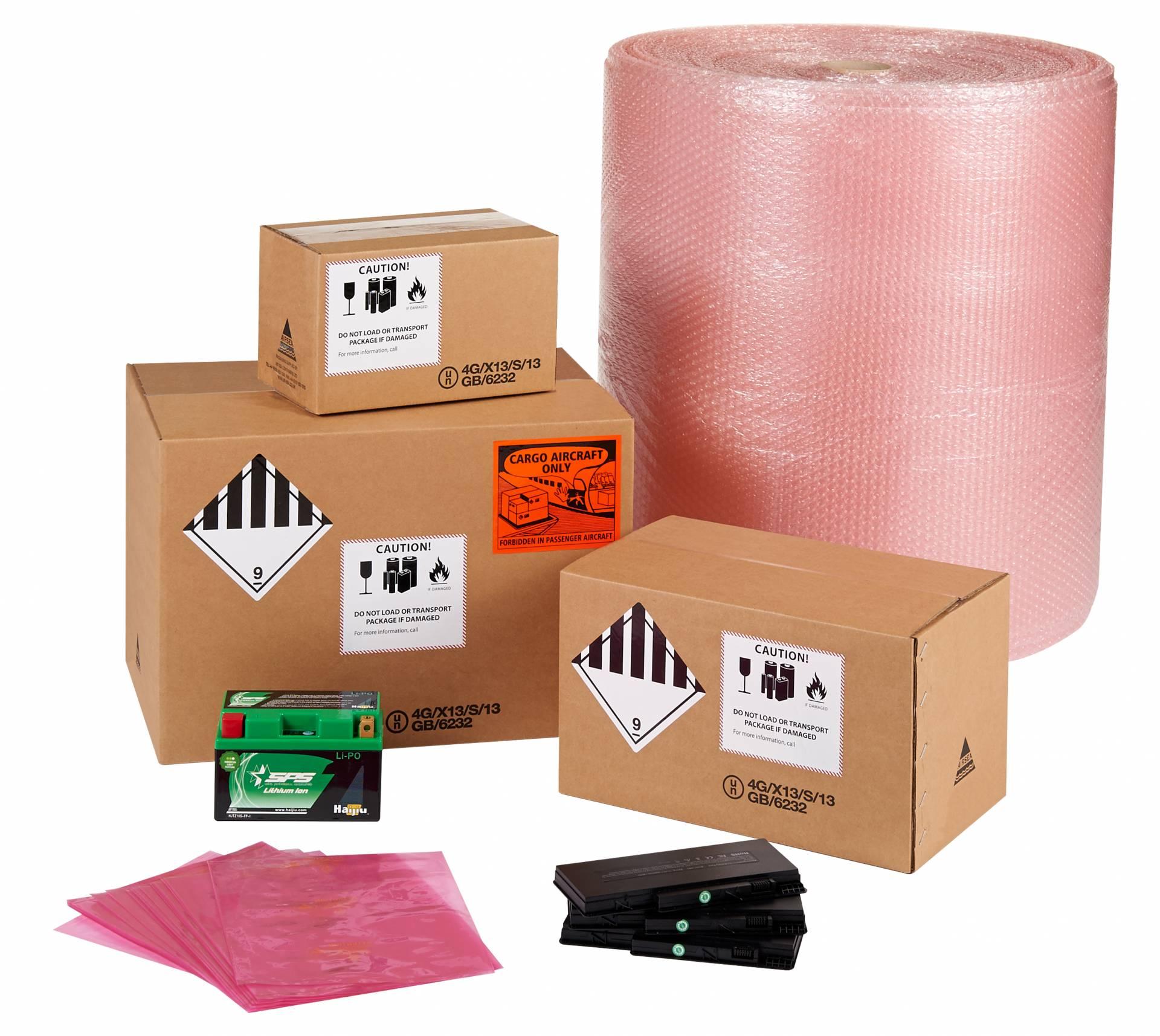 Lithium batterij verpakkingsmateriaal